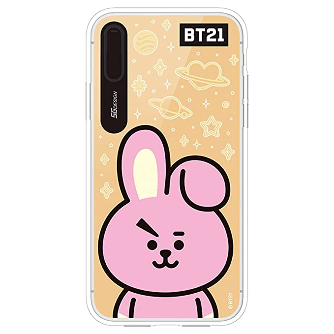 check out fe32f ccfaf iPhone X Case, BT21 Official Light Up Mirror Case (Cooky)