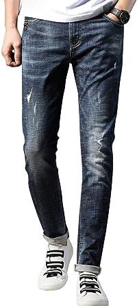Moda Masculina De Los Hombres Jovenes Pantalones Vaqueros Tamanos Comodos Al Aire Libre Casual Verano Delgada Regla Pantalones De Los Hombres Pantalones De Mezclilla Pantalones De Mezclilla Ropa Amazon Es Ropa Y Accesorios