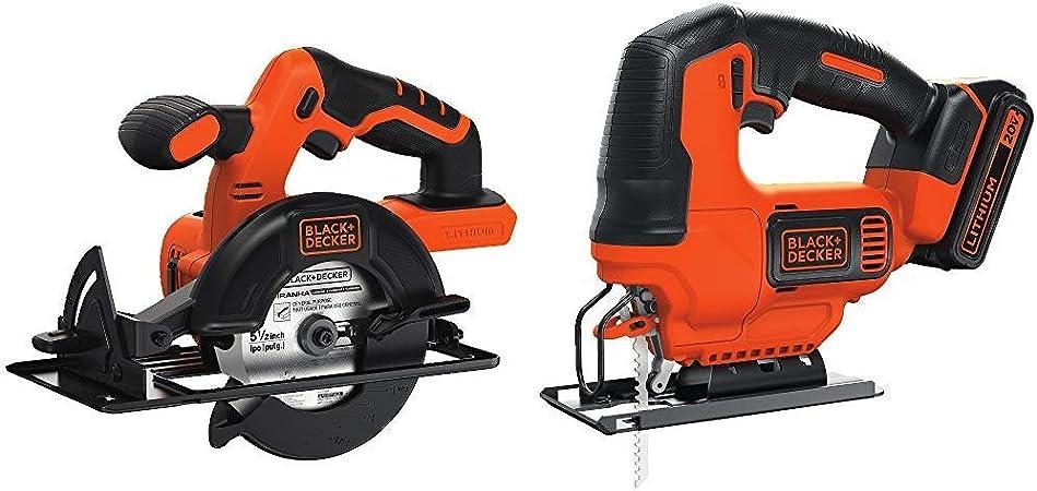 5.0-Amp BLACK+DECKER BDEJS600C Smart Select Jig Saw