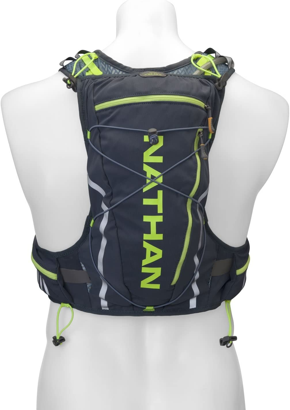 Nathan VaporCloud Race Vest Dark Slate//Blue Stone Small//Medium//2 L SHOCK DOCTOR NATHAN 4531NDSSS