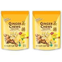 Prince Of Peace, Ginger Chews With Lemon - 4.4 Oz