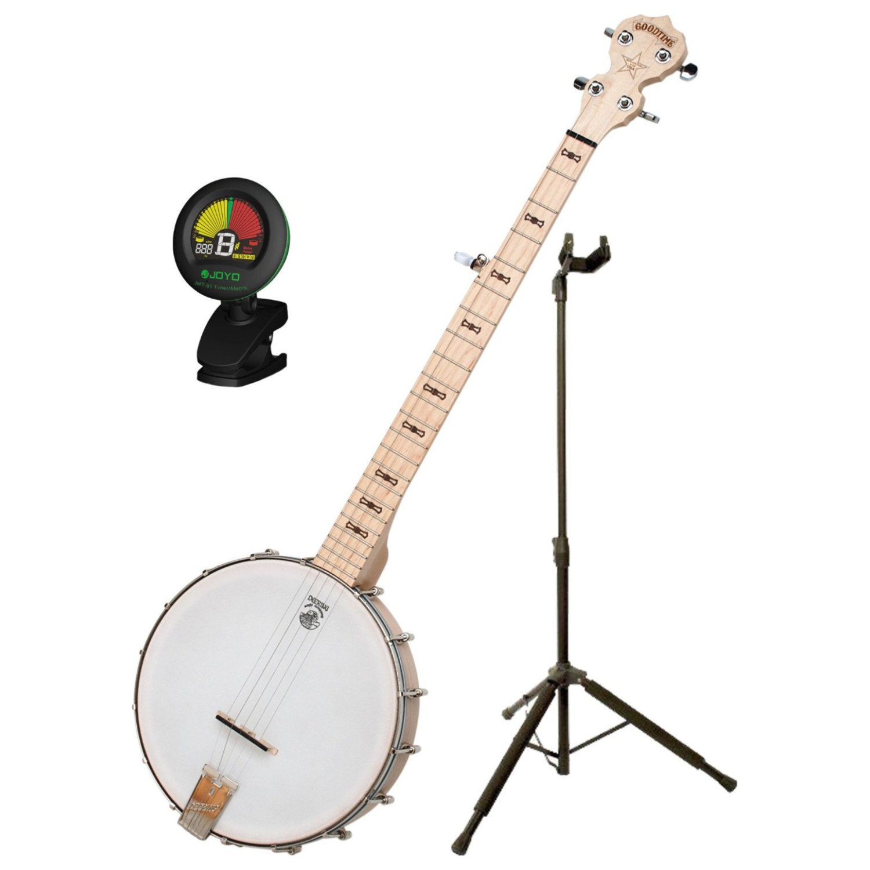 Deering Goodtime Banjo w/ DLX Stand and Tuner Deering Banjo Goodtime BUNDLE