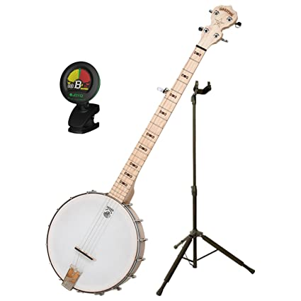 Deering Goodtime Banjo w/ DLX Stand and Tuner