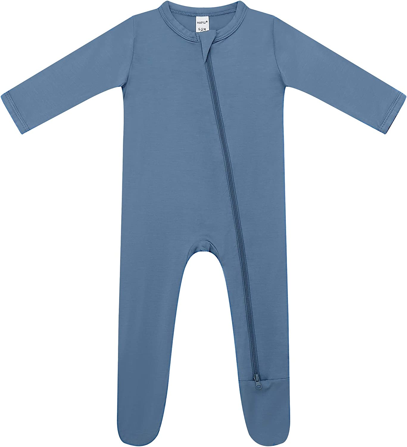 Vincent Summer Baby Boys Girls Zipper Short Sleeve Pajama Sleeper Cotton Romper Jumpsuit