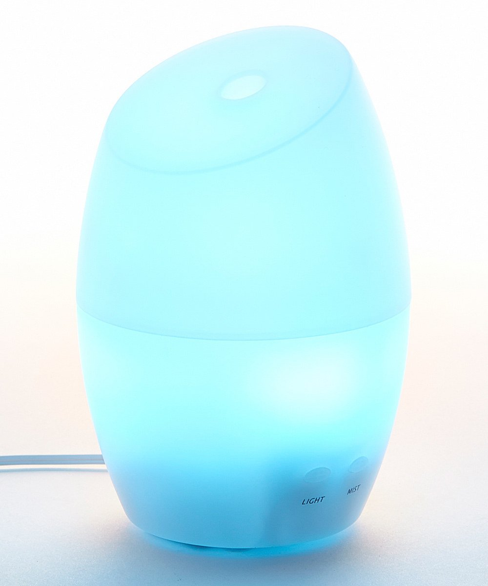 ZAQ Jellyfish Essential Oil Diffuser LiteMist Ultrasonic Aromatherapy with Ionizer and Color-Changing Light - 80 ML Capacity