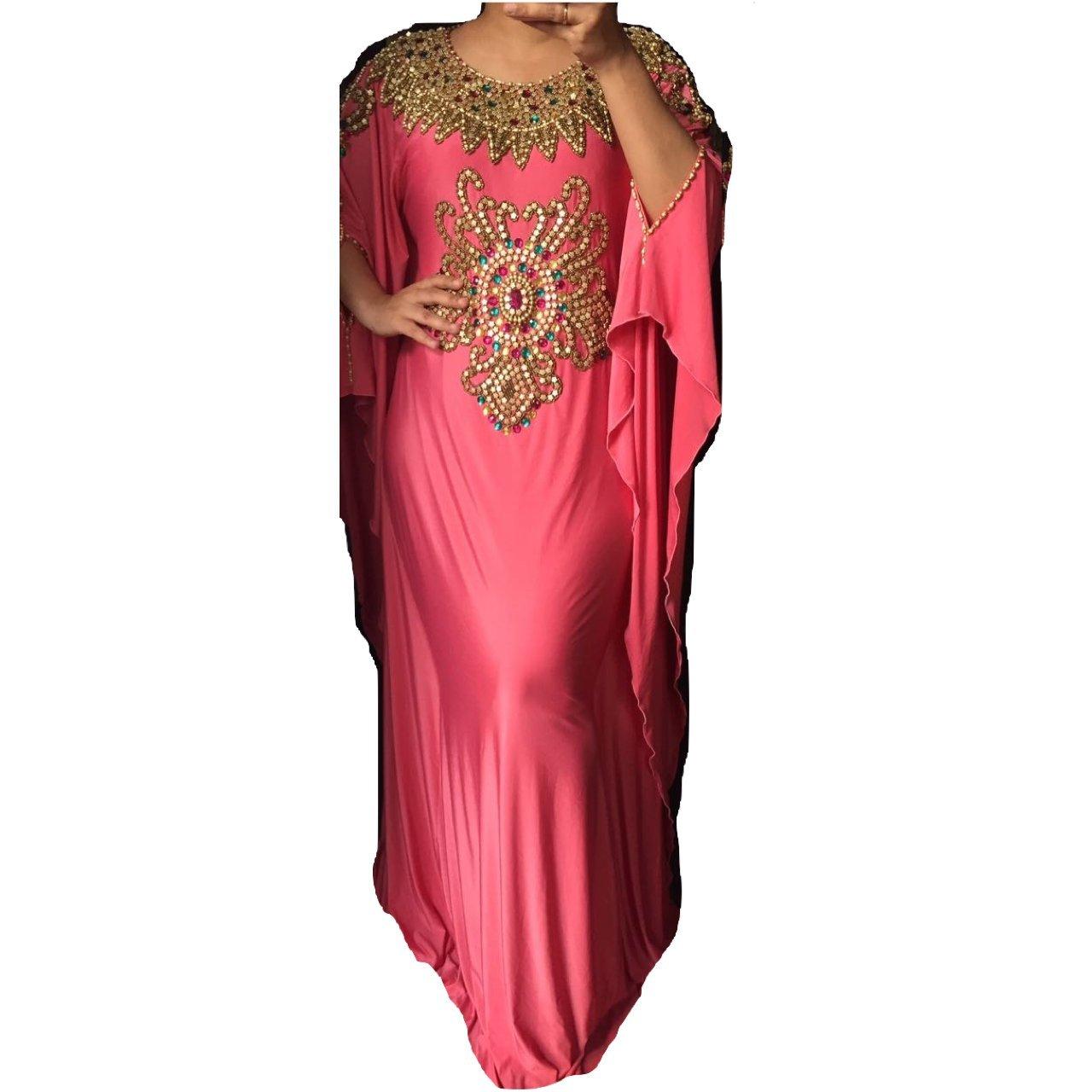 Paulina - Fitted Batwing 32 Style Kaftan, Abaya, Dress L
