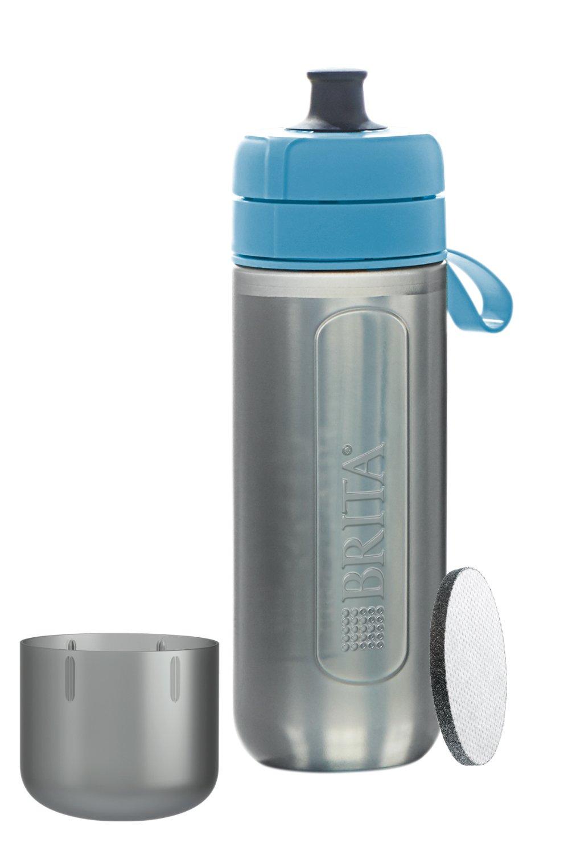 2位.ブリタ BRITA フィル&ゴー アクティブ ブルー 携帯用 浄水器