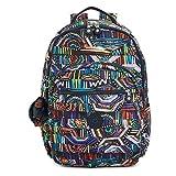 Kipling Women's Seoul Large Printed Laptop Backpack One Size Graffiti Waves