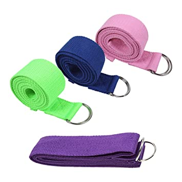 SONSYON Cinturon Yoga - Cinturón Deportivo de Algodón ...