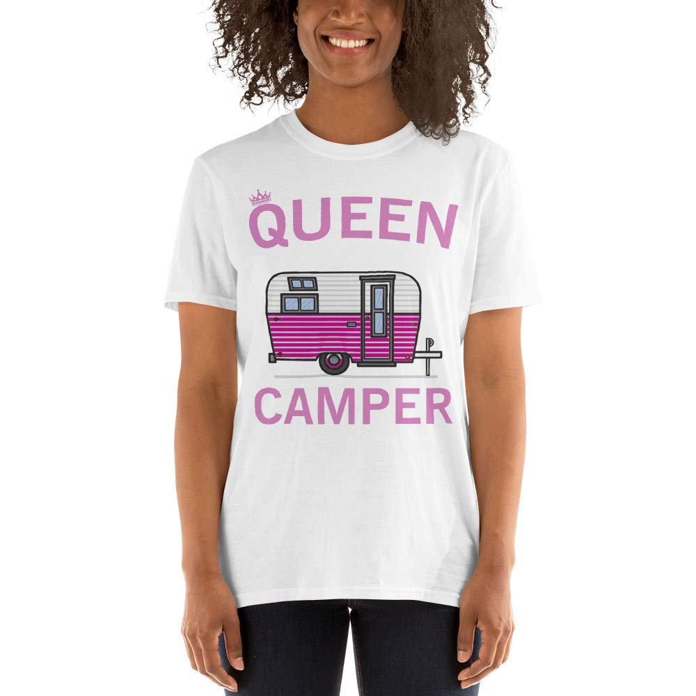 lucoin Queen of The Camper Unisex T-Shirt