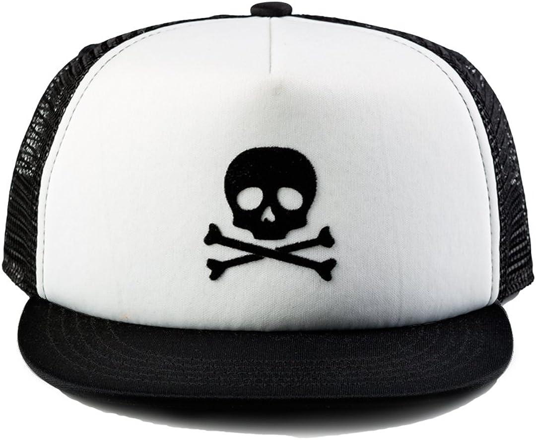 Born to Love Baby Boy Infant Trucker Sun Hat Toddler Baseball Cap White and Blue Lightning Hat