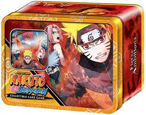 Naruto Cards Promo - Naruto Shippuden Card Game Fierce Ambitions Collector Tin Set Naruto Save Gaara Includes Promo Card