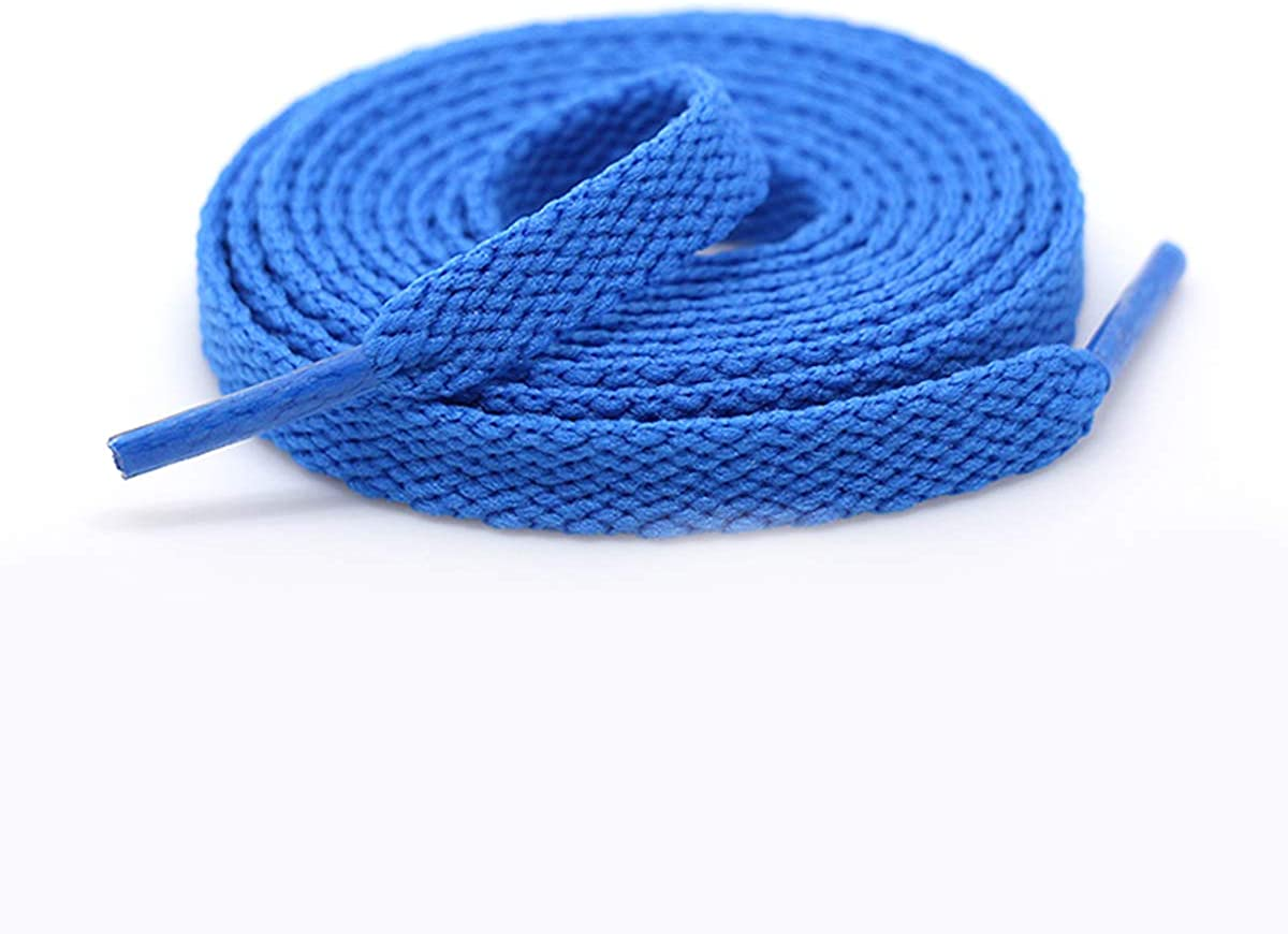 Y-SPACE 47in Flat Coloured Athletic Shoelaces,