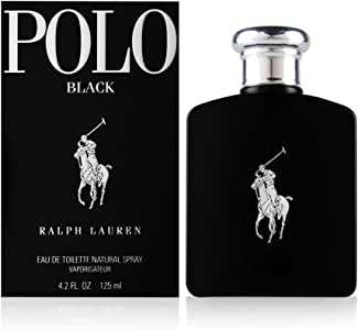 Ralph Lauren Polo Black Men Eau de Toilette Spray, 125ml