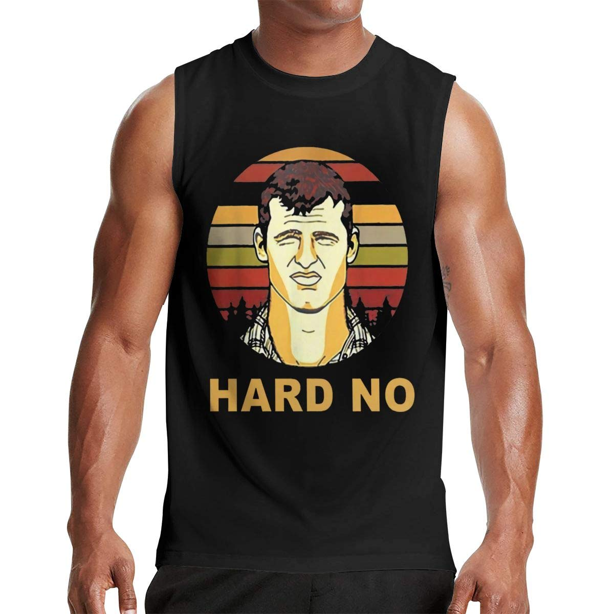 Thomlarryca Hard No Letterkenny S Gym Muscle T Shirt Classic Athletic Sleeveless T Shi