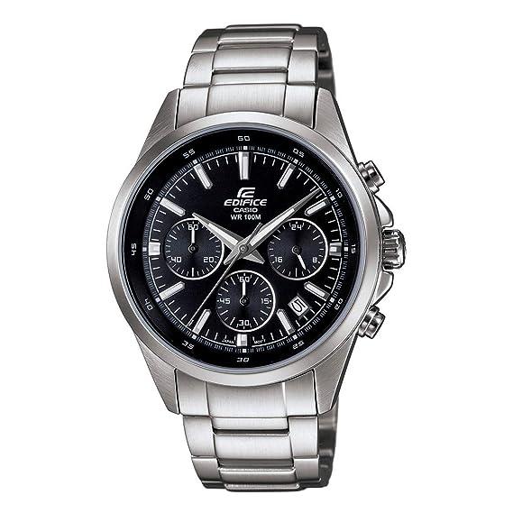 239aab4030cb CASIO EFR-527D-1AVUDF Reloj Casio Edifice Chronograph para Hombre   Amazon.es  Relojes
