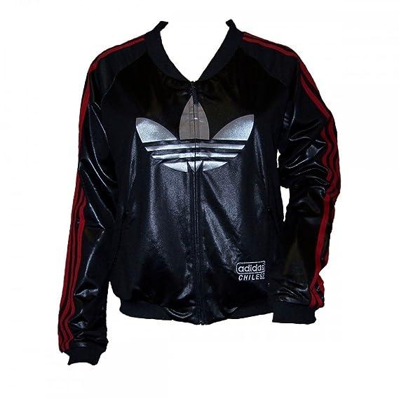 Adidas Chile 62 Deep TT Jacke Sportjacke Damen schwarz