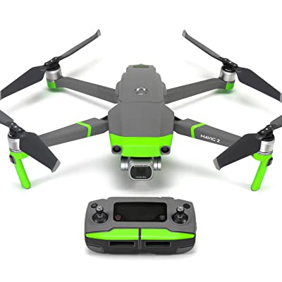 WRAPGRADE Poly Skin for Mavic 2 | Accent Color (NEON Green): Electronics