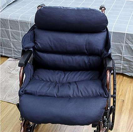 Cojín de confort para silla de ruedas Se adapta a cadera, espalda, ciática, dolor para la ...