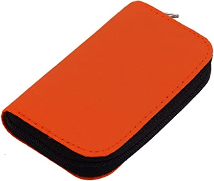 Funnyrunstore 4 Colores SD SDHC MMC CF para Almacenamiento de Tarjeta de Memoria Micro SD Bolsa de Transporte Bolsa Caja Funda Titular Protector Billetera Tienda al por Mayor (Naranja): Amazon.es: Electrónica