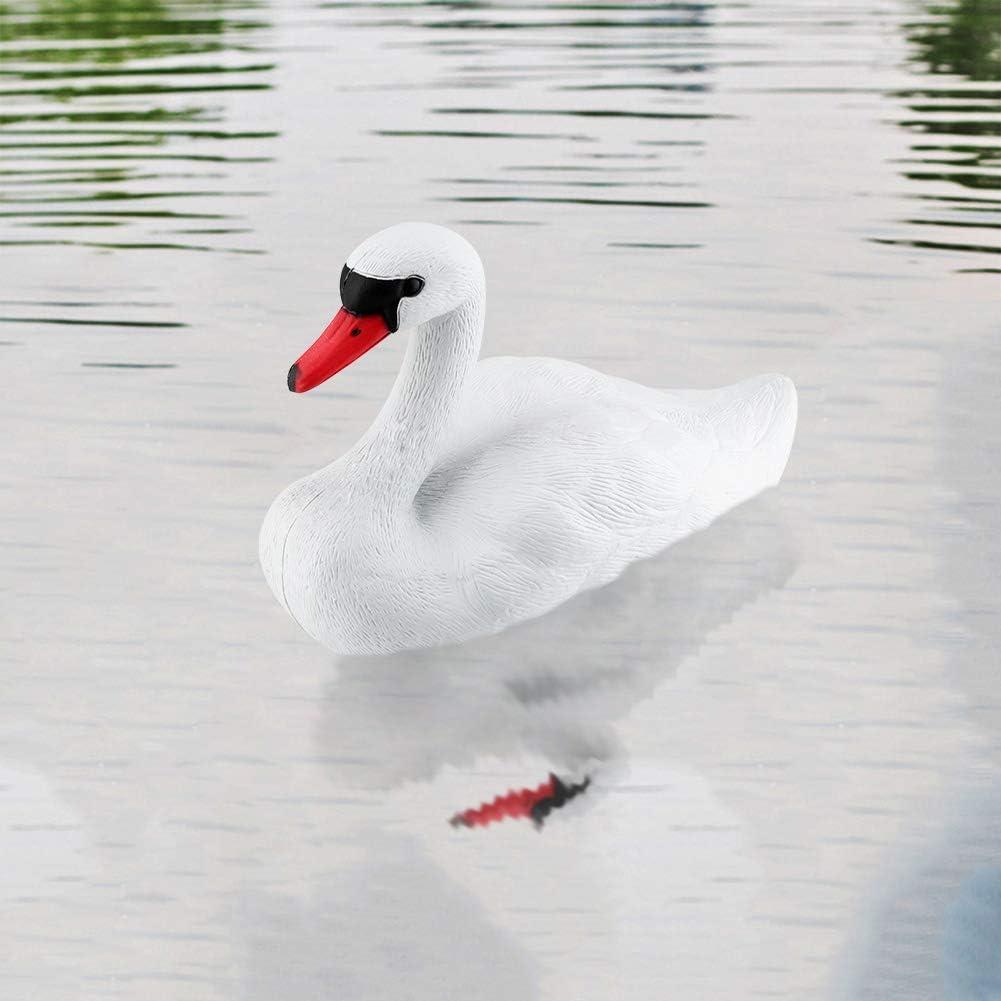 Sonya Happy White Swan On Lake Swan Float Garden Decor Home Decor Lake Floats Plastic White Swan Floating Planter Hunting Bait Goose