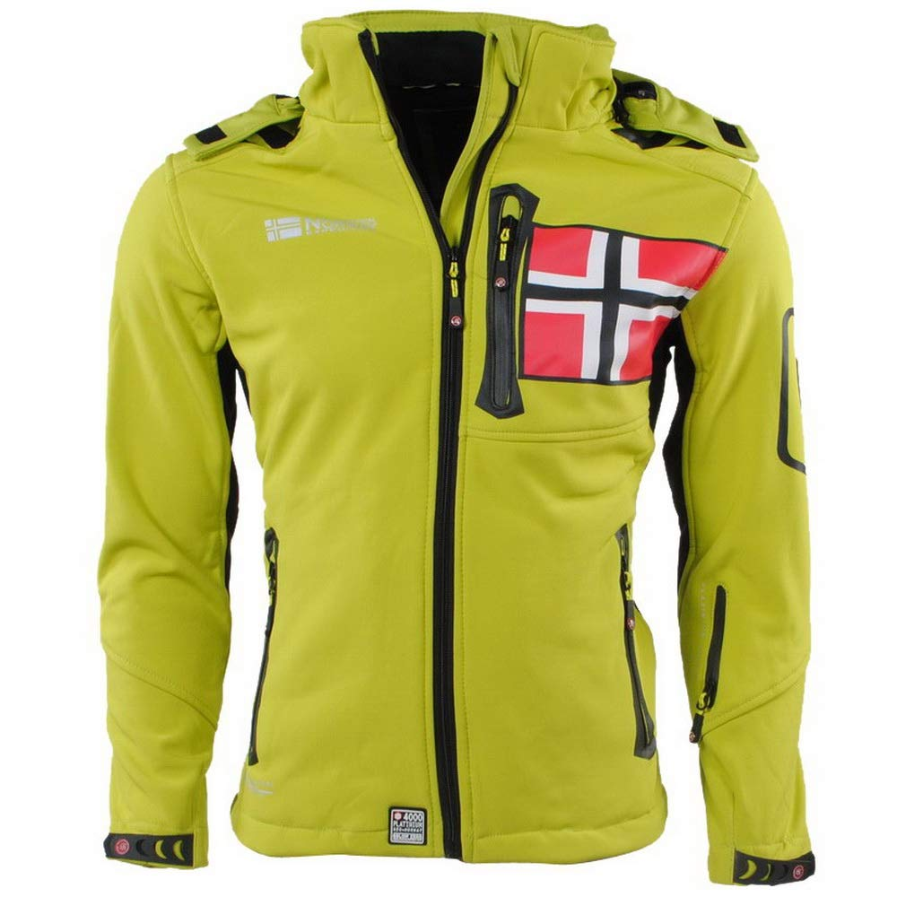 Geographical Norway–Softshell Hombre renade Verde