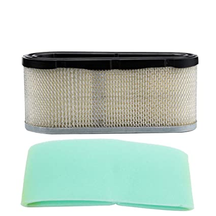 496894 Air Filter for Briggs & Stratton 496894S 493909 Pre Filter 272403  272403S Craftsman Lawn Mower Air Filter Replacement Kit for Engine Lawnmower