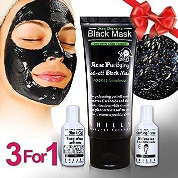 Acne Charcoal Black Peel Off Mask Treatment- Remove Blackheads