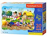Castorland C-02283 Premium Big Turnip Contour Maxi Jigsaw Puzzle, 20 Pieces Set, Multi