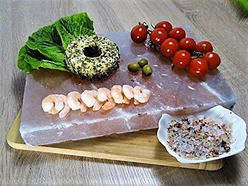 Sal Barbacoa piedras 20 x 20 x 4 cm Gourmet Sal Barbacoa piedras.Original Sal del Himalaya Süd Punjab de Pakistán directamente Proveedor: Amazon.es: Hogar