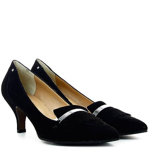 Bajo Mujer Premi De Salón Bruno es Tacón Negro 41 Amazon Zapato xBPZYw15wq