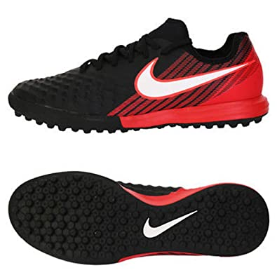 NIKE Men's MagistaX Finale II TF Turf Soccer Cleats (Sz. 8) Red,