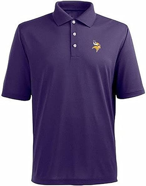 Amazon.com   Minnesota Vikings NFL Team Apparel Dri Fit Polo Golf ... 6284c288bb9e