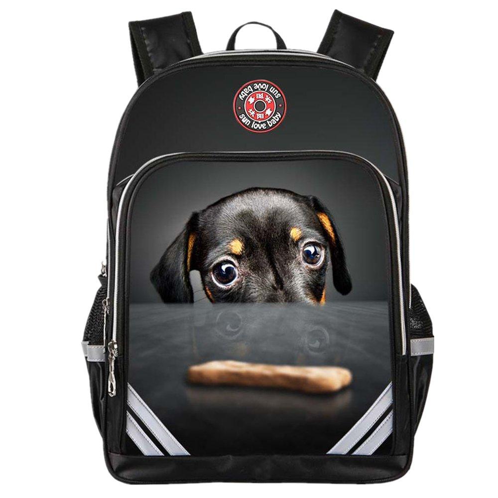 Mochilas escolares Bolsas de escuela para niños y niñas 20L 35L Cartoon animal unisex mochila bolsas mochila ideal para impresión 3D a prueba de agua