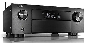Denon AVR-X4500H - Receptores Audio/Video de Alta definición, Color Negro
