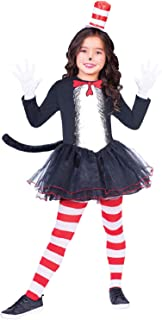 d1f38c265f78 Girls Official Dr Seuss Cat In The Hat Tutu Skirt Dress World Book Day Week  TV Book Film Carnival…
