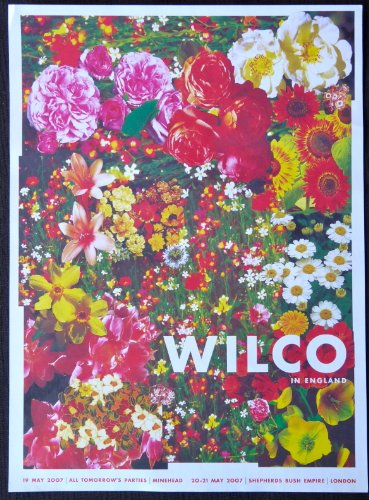 Wilco - Live in London - Concert Gig Poster - 10