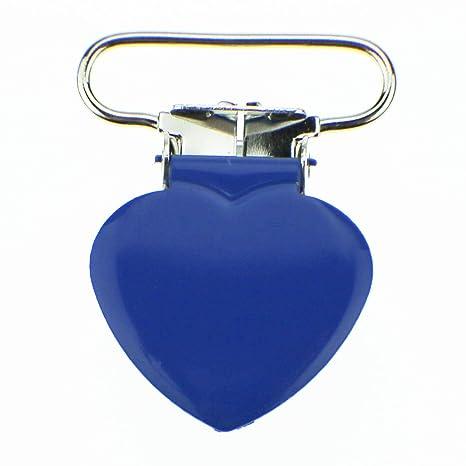 Amazon.com: 5 Forma de Corazón Esmalte Suspender Clips 1 ...