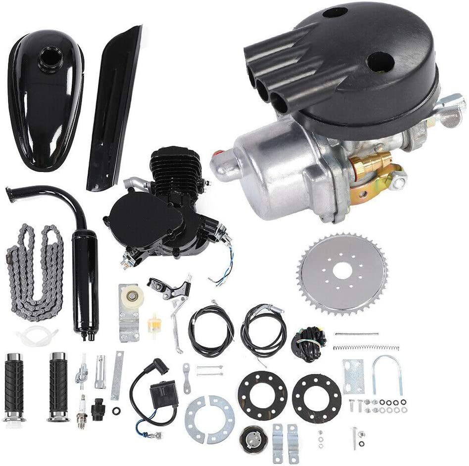 EBTOOLS Kit Motor 800 CC 2 Tiempos Gasolina Motor, Kit de conversión para Bicicleta eléctrica, Motor para motorizado Bicicleta: Amazon.es: Coche y moto