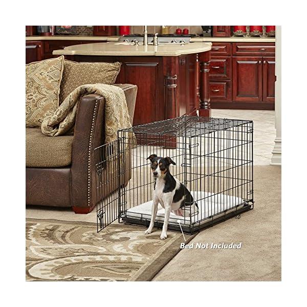 MidWest-Homes-for-Pets-Dog-Crate-iCrate-Single-Door-Double-Door-Folding-Metal-Dog-Crates