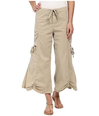 2b43eae5509f XCVI Women s Cargo Gaucho Crop at Amazon Women s Clothing store