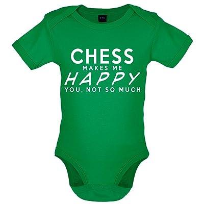 Chess Makes Me Happy - Bébé-Body - 7 Couleur - 0-18 mois