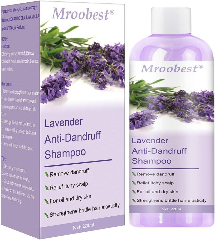 Champu Anticaspa, Anti Dandruff Shampoo, Psoriasis Champu, champú especial para el cuero cabelludo seco/irritado/escamoso o picazón en el cuero cabelludo - 220 ml