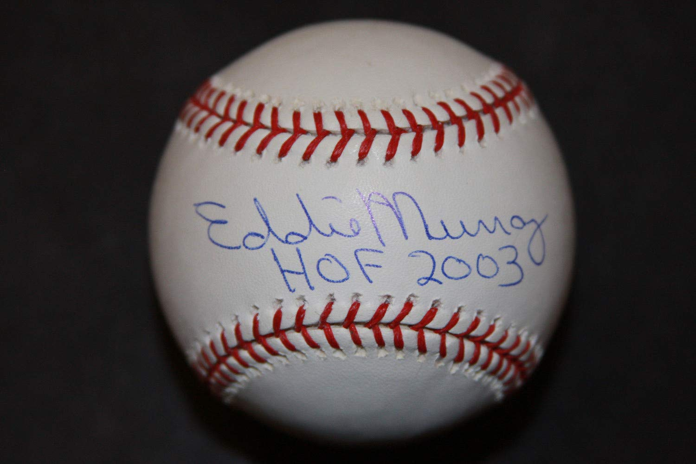 Eddie Murray Autographed Signed Roml Basebal Hof 2003 PSA/DNA