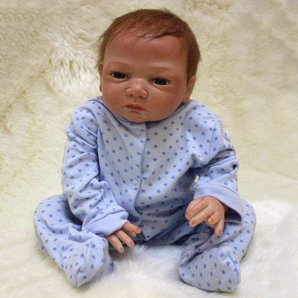 venta mundialmente famosa en línea LUCKYCAR Reborn Baby Doll 46 cm Magnética Juguete Realista Realista Realista Silicona Lindo Niño Bébé Renacido Bebé Muñeca La Realidad Simulación  en promociones de estadios