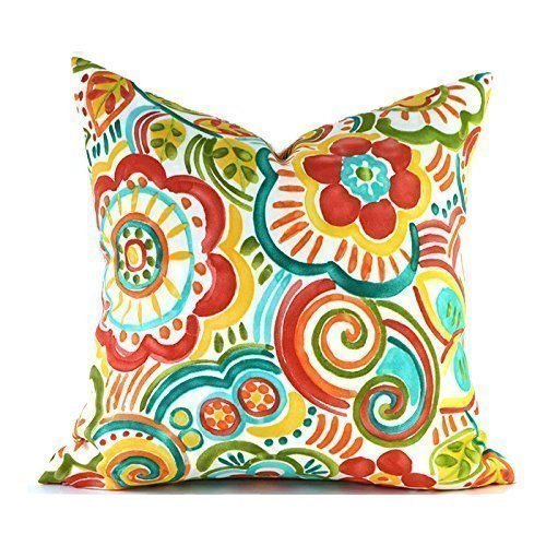 Outdoor Decorative Throw Pillow Cover Any Size OD Bronwood Carnival