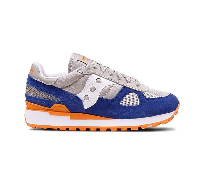 Saucony Sneakers Shadow 5000 Vintage Grigio Blu, Uomo