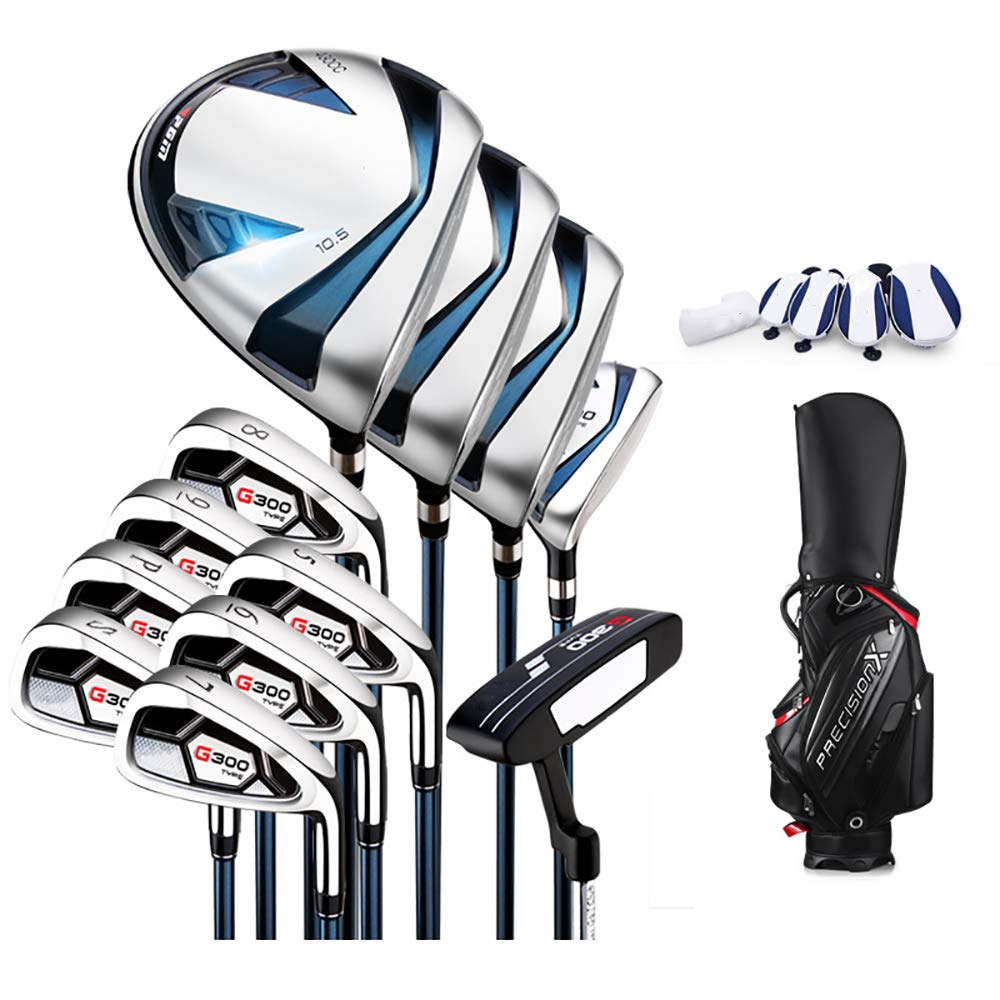Linqly Juego de Golf Club de los Hombres, 3 Postes de Madera ...