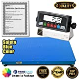 PS-10KF-4'x 4′ 10,000x1lb Floor Scale / Pallet Scale with Smart Scale Ready Indicator