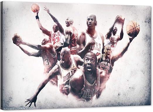 Amazon.com: Michael Jordan Canvas Wall